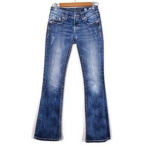 Miss Me Boot Cut 5 Pocket Jeans JE8000BR Womens 25